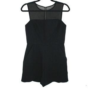 NEW BCBGeneration Sleeveless Black Romper Shorts